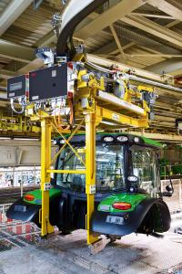 Mit Lösungen von MAXOLUTION® Automotive Industry von SEW-EURODRIVE können Automobilhersteller sich verändernden Anforderungen gerecht werden.