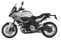 Wunderlich BMW F 900 XR with engine protection bar »EXTREME« in silver (Item.-No.: 26553-000)