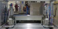 Die robuste und flexibel konfigurierbare Hebevorrichtung der cts Stacker/Destacker Unit verarbeitet Stapelhöhen standardmäßig bis zu 1 200 Millimetern. Sonderanfertigungen für größere Höhen sind möglich / Bildquelle: cts