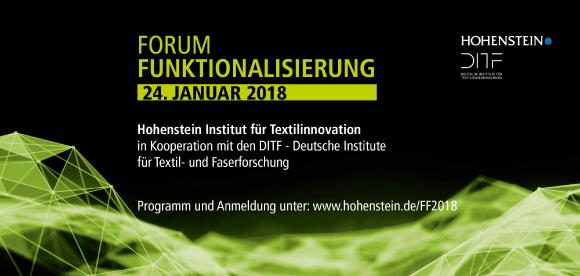 Forum Funktionalisierung 2018 / Hohenstein Group
