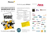[PDF] Off-Grid Experts Workshop 2015
