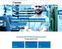 Der Software-Spezialist Geovision fokussiert Software-Angebot und Website auf die Industrie 4.0 in mittelständischen Fertigungsbetrieben / Bildrechte: Geovision GmbH & Co. KG, Wagenhofen