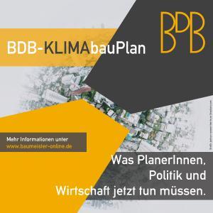 """Beim Thema """"Klimagerechtes Planen und Bauen"""" nimmt der BDB nicht nur Politik, Wirtschaft und Gesellschaft in die Pflicht. Auch die planenden Berufe müssen sich ihrer Verantwortung noch bewusster werden."""