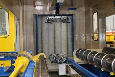Die Bürstenvorabscheidung reduziert die Belastung des Feinfiltersystems um 60 bis 80 Prozent