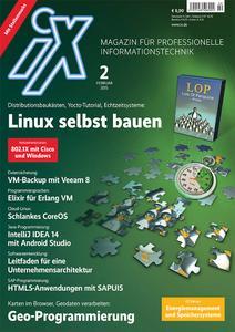 IT-Profimagazin iX  Ausgabe 2/15