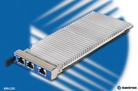 Kontron AM4100 AMC Module Delivers 1.5 GHz Dual Core PowerPC® performance and exceptional data throughput