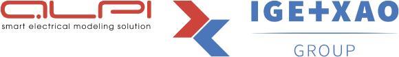 Logo Partnerschaft ALPI/IGE+XAO