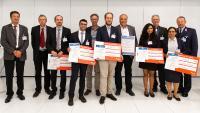 Die AFCEA Studienpreisträger 2019 (Bild Veres)