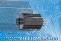 ultrakompaktes Hutschienen-Netzteil HDR-150 von Mean Well bei M+R Multitronik GmbH