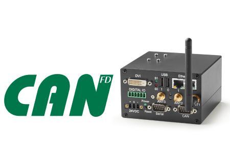 Janz Tec IoT Gateway und weitere Embedded Systeme mit CAN FD