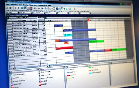 Neue Software: Intelligente Ressourcen-Planung per Drag & Drop