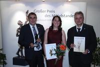 Großer Preis des Mittelstandes (v.l. Dr. Matthias Nagel, Manuela Teßmer, Markus Nagel)