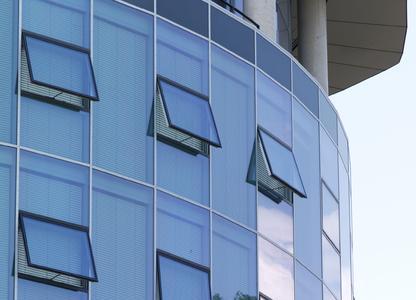 Absicherung für kraftbetätigte Fenster
