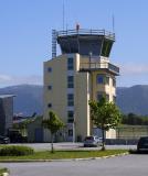 Brønnøysund Flughafen Tower, Norwegen