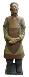Der Terrakottakrieger General Yuan nach der Restaurierung (Bildquelle: Remmers Baustofftechnik, Löningen)