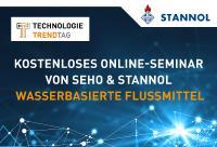 Kostenloses Online-Seminar rund um das Thema wasserbasierte Flussmittel von Stannol und SEHO