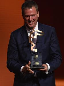 CEO Philip Harting with HERMES AWARD