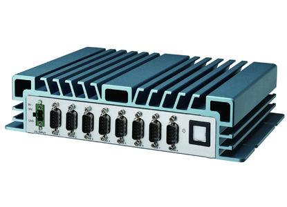 Mit bis zu 8 seriellen Schnittstellen können die Achrid-8142-Modelle von Welotec theoretisch bis zu 512 serielle Geräte parallel bedienen