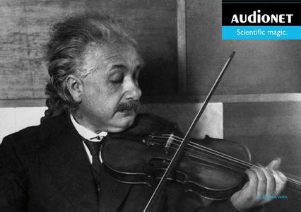 Albert Einstein mit Geige. © Getty Images © Audionet