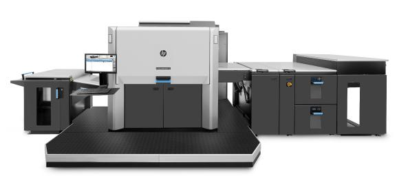 New digital printing machine HP Indigo 12000. Onlineprinters has increased its printing capacity again. The online print company added an HP Indigo 12000 to its range of machines. Incorporating seven ink units, the new digital printing press is capable of representing an even larger colour space. Copyright: Onlineprinters GmbH