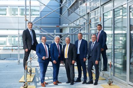 v. l. n. r.: Robert Kreß, Alexander Weiss, Dieter Straub (Vorsitzender), Ralf Schmidt, Christian Ott, Marcus Herwarth und Stefan Schmidt-Weiss (Bild 2019)