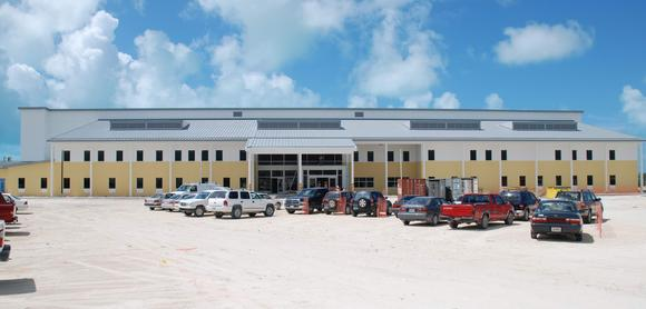 Krankenhaus auf Grand Turk (TC)