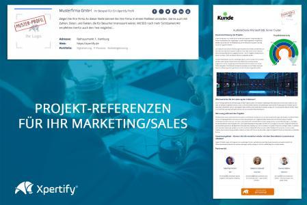 Xpertify - die Online Projekt Referenz