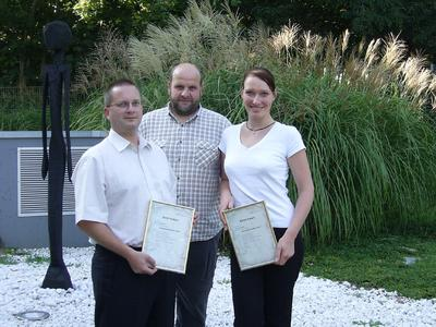 KID-Kundenberater Hr. Hornung,Hr. Kadanik,Fr. Scholz