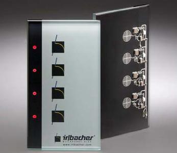 IMPAtouch - Elektronik direkt auf Einscheiben-Sicherheitsglas bestückt.