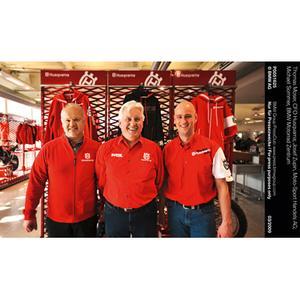 Thomas Moser, CFO Husqvarna; Josef Zupin, Moto-Sport Handels AG; Michael Sommer, BMW Motorrad Zentrum