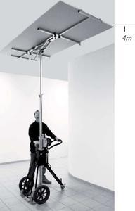 neu entwickelter plattenlift f r die wand und. Black Bedroom Furniture Sets. Home Design Ideas