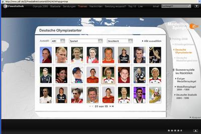 Übersicht deutsche Sportler