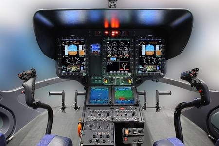 EC145 T2 Helionix Cockpit SN20002 © copyright Airbus Helicopters Charles Abarr