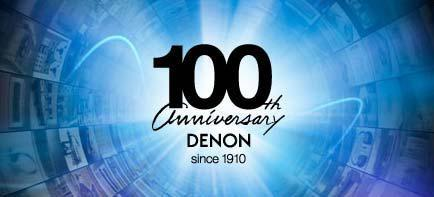 Denon präsentiert auf der IFA 2010 seine lang erwarteten Jubiläumsprodukte sowie neue Heimkino- und HiFi-Lösungen
