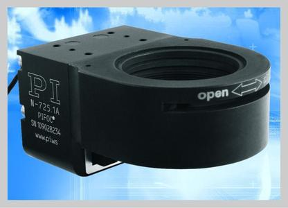 N-725 Objective nanofocusing system with 1 mm travel range