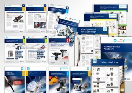 Technische Dokumentation in verschiedenen Sprachen