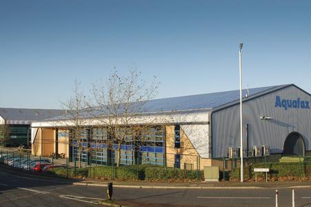 Aquafax 75 kW rooftop PV system