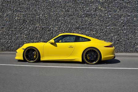 TECHART rear spoiler I for the new Porsche Carrera