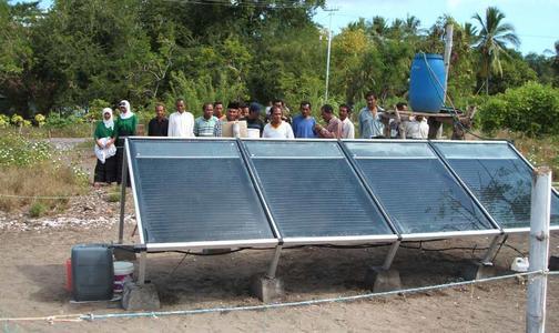 Die Flores Solar Water GmbH präsentierte im März (FSW) in Frankreich ihre erste Pilotanlage zur modularen und netzunabhängigen Trinkwasseraufbereitung