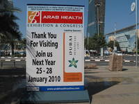 Arab Health 2009 - A Retrospect