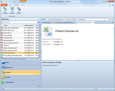 Screenshot lexiCan Business Edition (www.lexican.de)