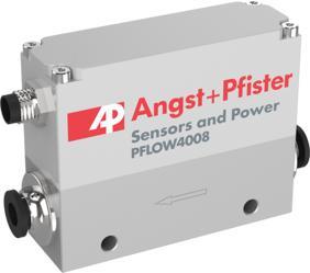 Die neuen PFLOW4008 Durchflusssensoren