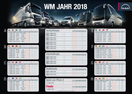 WM Spielplan 2018 MAN