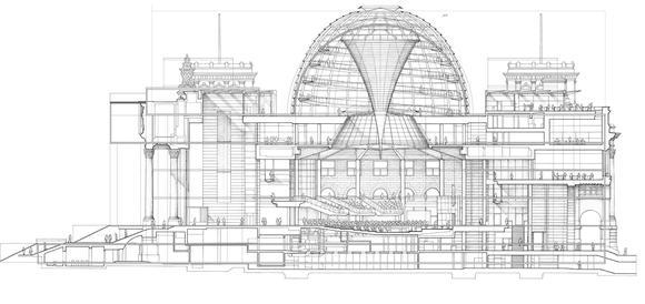 Metsä Woods Plan B für Deutschland: Bau des Reichstagsgebäudes aus Holz