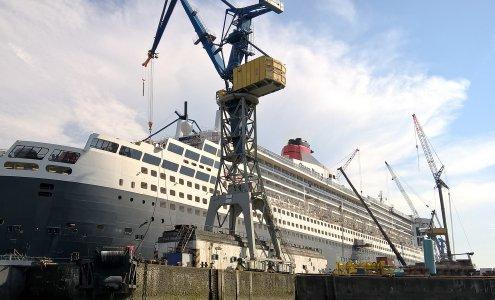 Großskalige Produkte wie dieses Passagierschiff werden in der Regel in Baustellenmontage gefertigt. (Bildlizenz: Pixabay License – Freie kommerzielle Nutzung, kein Bildnachweis nötig)