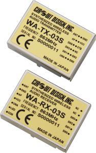 Audiofunkmodule WA-TX-03S / WA-RX-03S