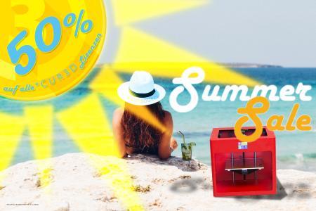 Summer Sale 2018: 50% Rabatt auf ALLE* CUR3D Lizenzen