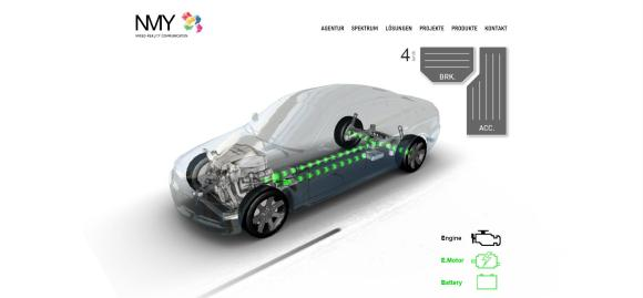 Interaktives 3D im Web – Showcase Automotive