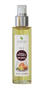 Für die verwöhnenden Aroma-Massageöle hat Schupp ein neues, elegantes Flaschendesign gestaltet.