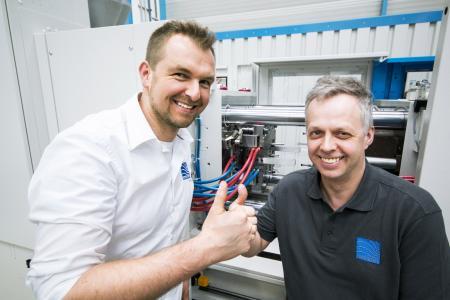 Thilo Krumm (l.) und Christian Rath, Formotion, Wilnsdorf (Foto: wortundform)